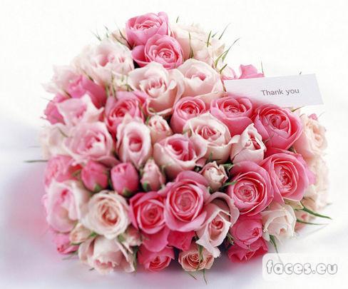 Открытка с розами для сестры 40